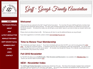 Goff/Gough Family Association