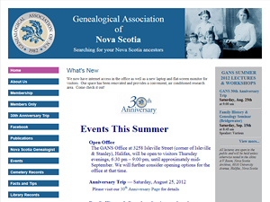 Genealogical Association of Nova Scotia