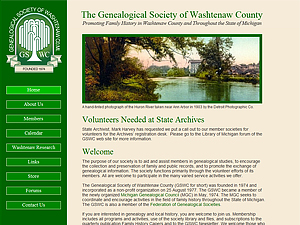 Genealogical Society of Washtenaw County, Michigan, Inc.