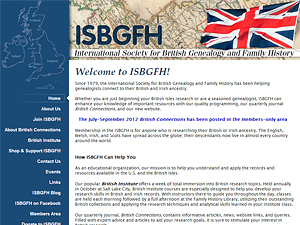 International Society for British Genealogy & Family History