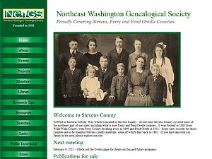 Northeast Washington Genealogical Society