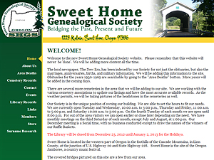 Sweet Home Genealogical Society