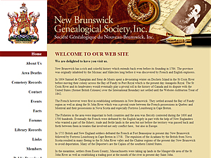 New Brunswick Genealogical Society Inc.