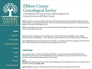 Elkhart County Genealogy Society