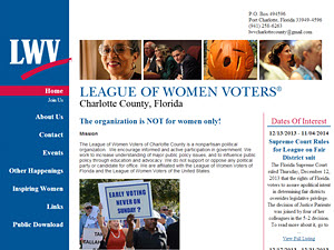 League of Women Voters of Charlotte County Florida