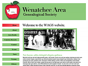 Wenatchee Area Genealogical Society