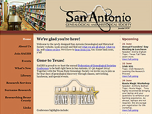 San Antonio Genealogical and Historical Society