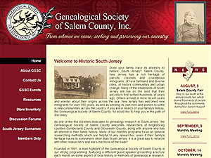 Genealogical Society of Salem County