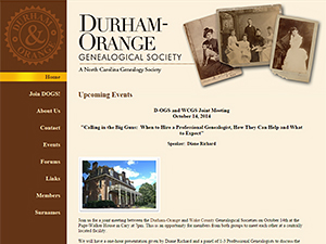 Durham-Orange Genealogical Society