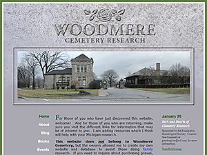 Woodmere Cemetery Research