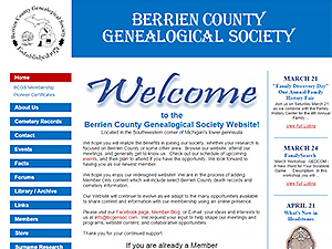 Berrien County Genealogical Society