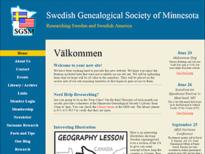 Swedish Genealogical Society of Minnesota