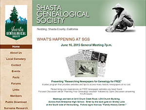 Shasta Genealogical Society
