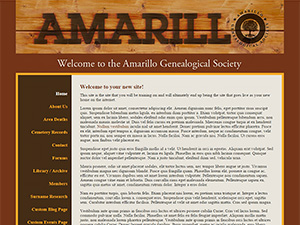 Amarillo Genealogical Society