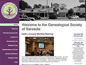 Genealogical Society of Sarasota, Inc.