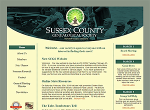 Sussex County Genealogical Society