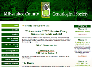 Milwaukee County Genealogical Society
