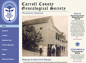 Carroll County Genealogical Society, Inc.