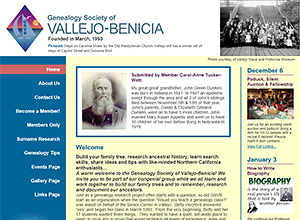 Genealogy Society of Vallejo-Benicia