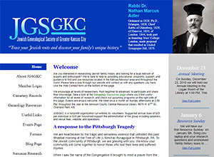 Jewish Genealogical Society of Greater Kansas City
