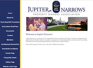 Jupiter Narrows Property Owners Association