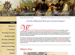 Huguenot Society of Maryland