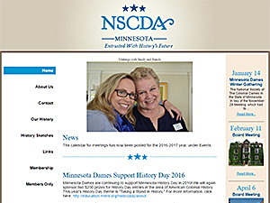 National Society of Colonial Dames of America, MN Chapter