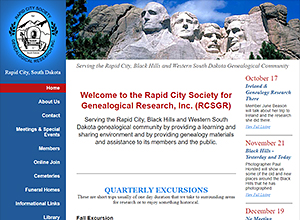 Rapid City Society for Genealogical Research