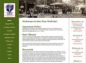 Ross County Genealogical Society