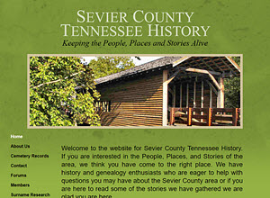Sevier County Tennessee History