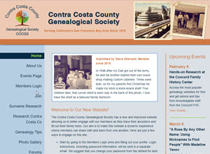 Contra Costa County Genealogical Society