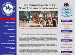 Delaware Society Sons of the American Revolution