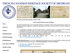 French-Canadian Heritage Society of Michigan