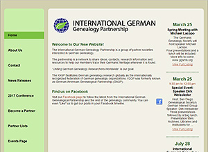 International German Genealogy Partnership