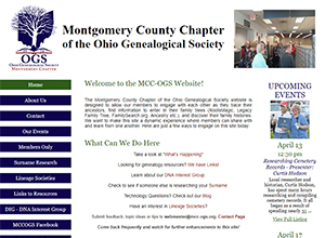 Montgomery County Chapter of the Ohio Genealogical Society