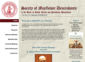 Rhode Island Society of Mayflower Descendants